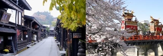 富士山駅、河口湖駅から岐阜県高山市を結ぶ