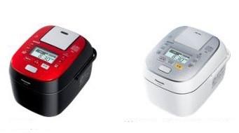 炊飯中の水分量に合わせた「圧力コントロール」を採用(写真は、「SR‐SPX6シリーズ」左はルージュブラック、右がスノークリスタルホワイト)