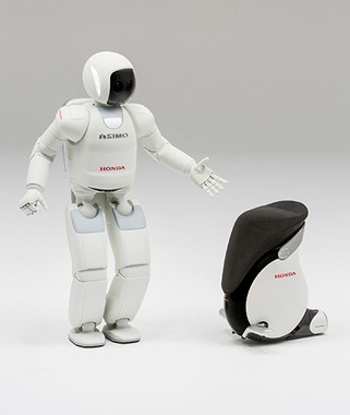 「ASIMO」のお・も・て・な・し