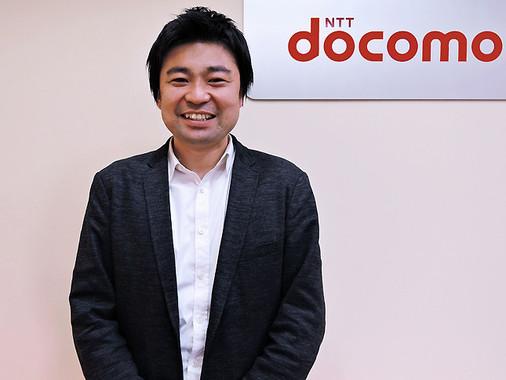 NTTドコモで「ケータイ払い」を担当している大浦勇亮さん