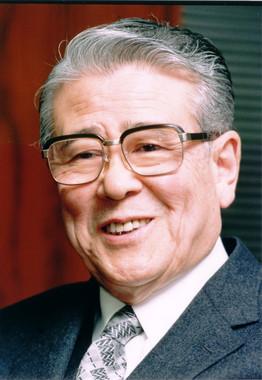 平山郁夫氏(文化財保護・芸術研究助成財団提供)