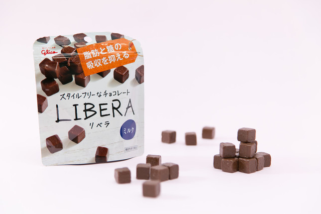 チョコとしてのおいしさ、健康を両立した「リベラ」