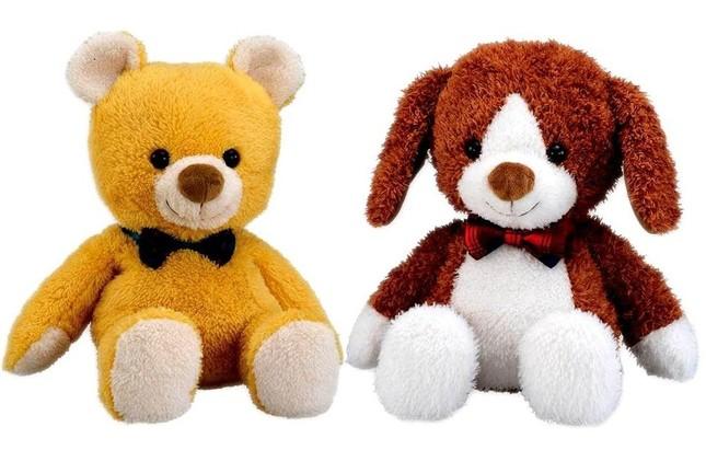 性格の違うクマとイヌ、2種類をラインアップ