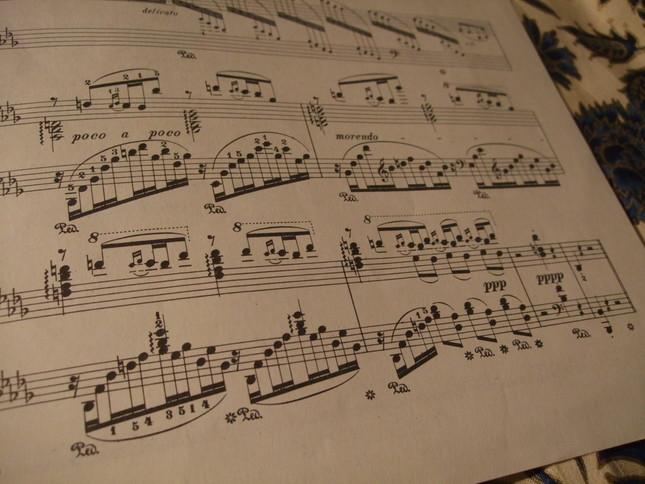 ヴィルトオーゾ的ではあるが、最弱音で消え入るように曲は終わる
