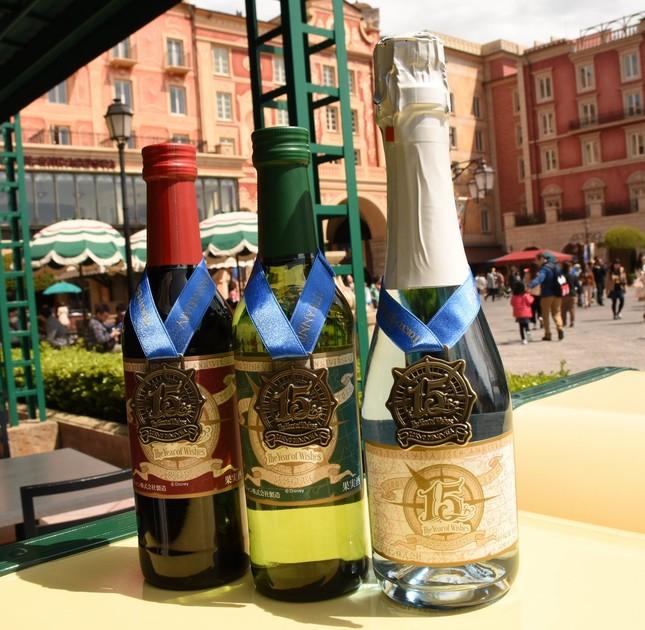 東京ディズニーシー15周年記念ラベルワイン
