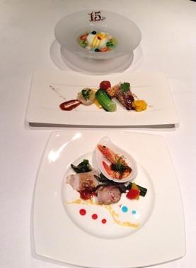 ホテルミラコスタ、中華レストラン「シルクロードガーデン」の「15thアニバーサリー」のランチコース