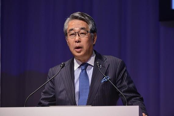 セミナーの座長を務めた、東京女子医科大学病院皮膚科の川島眞教授