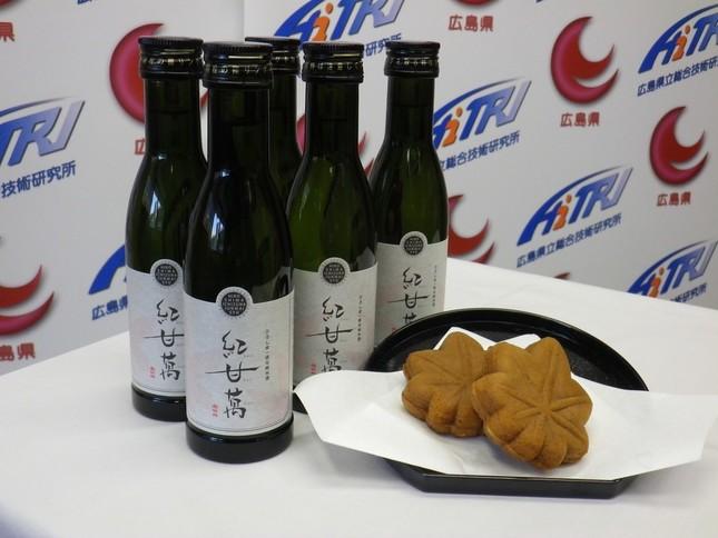 もみじ饅頭専用酒