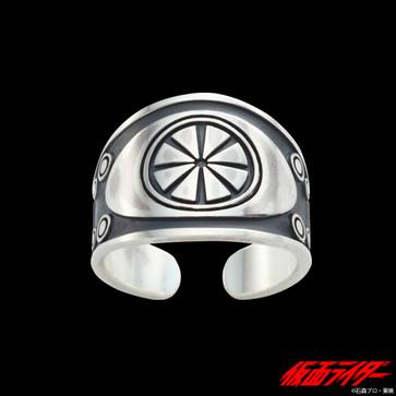 ベルトモチーフ プレートリング silver925