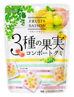 果実をおいしく食べる「フルーツセゾン コンポートグミ」