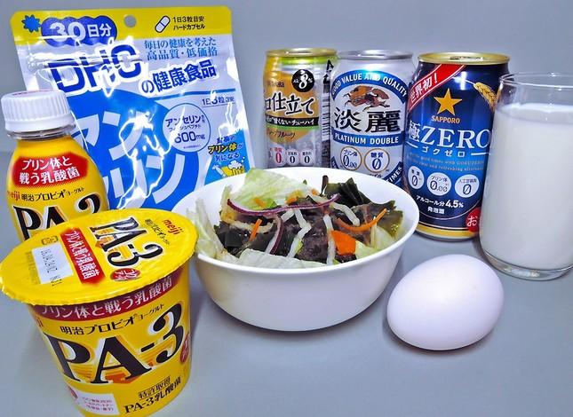 現代人の食事にプリン体は多く含まれている