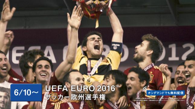 WOWOWは「UEFA EURO 2016」全51試合生中継のほか、WOWOWメンバーズオンデマンドで全試合ライブ配信する