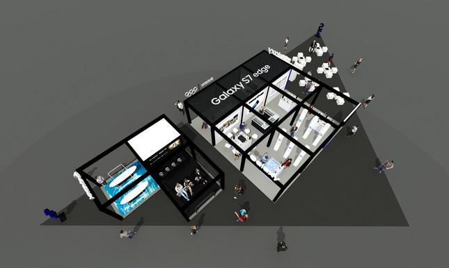 「Galaxy Studio」のイメージ図その2