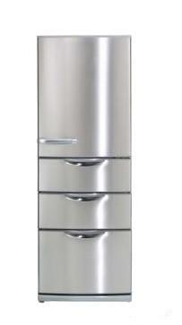 冷凍室が2段で整理整頓がしやすい4ドア冷凍冷蔵庫