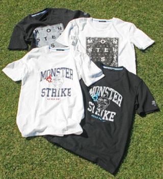 「ギルドプライム」×「モンスターストライク」コラボTシャツ