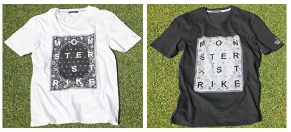 【GUILD PRIME】 MENS MONSTER STRIKE コラボ バンダナTシャツ