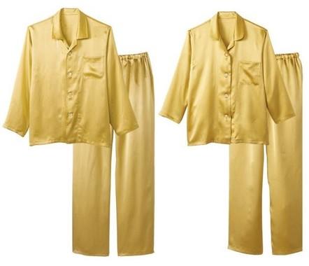 加賀シルクを使用した贅沢なパジャマ