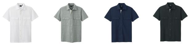 ドライカノコ フルオープンポロシャツ