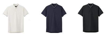 ドライEX スタンドカラーポロシャツ