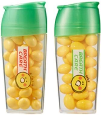 新たに「パインアメくん」をボトルにデザイン