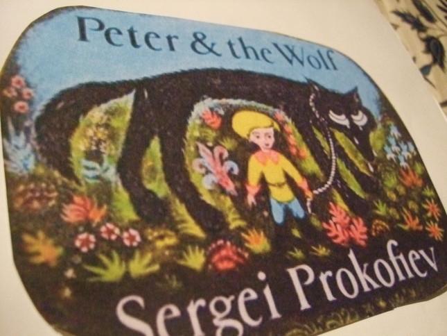 『ピーターと狼』絵本の挿絵