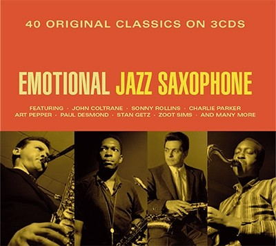 「Emotional Jazz Saxophone」
