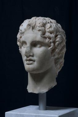 アレクサンドロス頭部 前340~前330年 アクロポリス博物館蔵 ©The Hellenic Ministry of Culture and Sports- Archaeological Receipts Fund