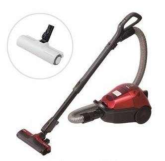 振動でハウスダストが取りやすい、電動ふとんブラシ「パワービーターヘッド」付き(写真は、「VC‐PG316」と付属の「パワービーターヘッド」)