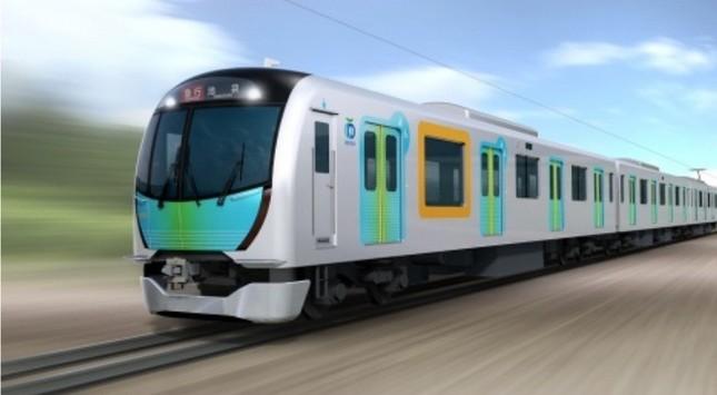 新型通勤車両「40000系」(イメージ)