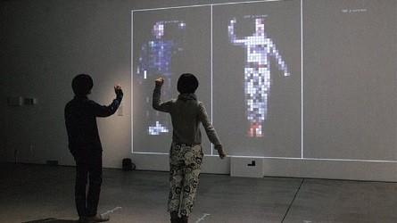 岡田憲一+冷水久仁江(LENS)「Pixelman」(C)kenichi OKADA+kunie HIYAMIZU(LENS)