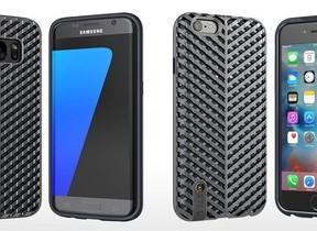 「シースルーメッシュデザイン」のスマホケース iPhone 6s/6&Galaxy S7 edgeを衝撃と熱から守る