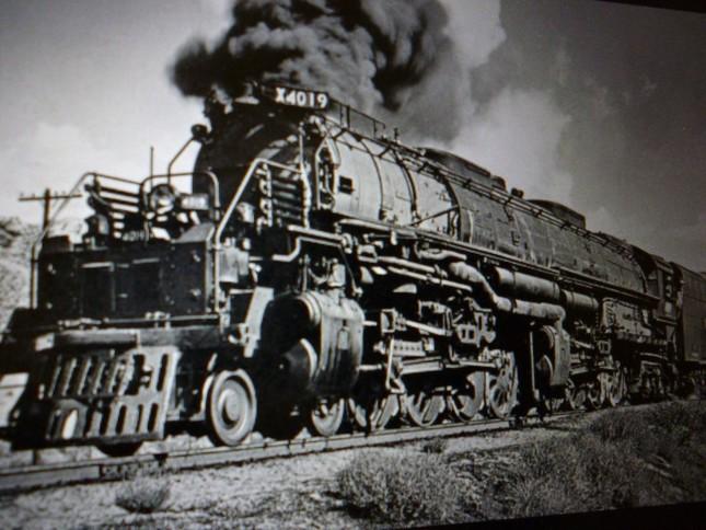 当時のアメリカ大陸横断鉄道列車