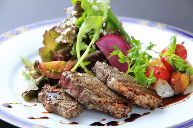 イタリアンフルコースで魚・肉料理