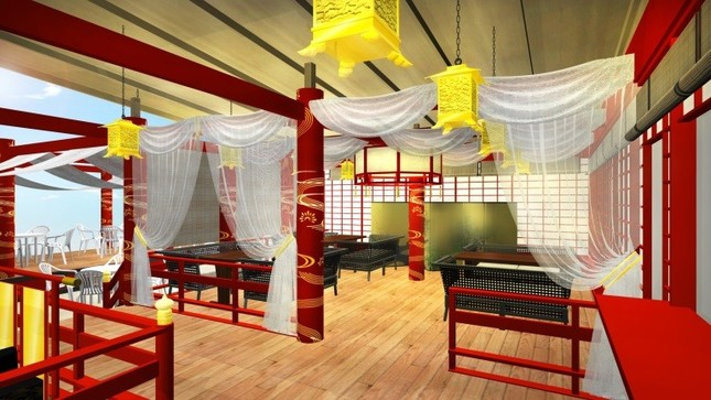 「乙ちゃんの竜宮城」の内部イメージ図