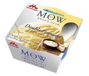 「MOW」から2つのチーズをブレンドした「ダブルフロマージュ」がコンビニ限定発売