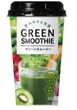 9種類の国産野菜を使用したグリーンスムージー