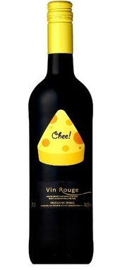 チーズのイラストでワインの特長が分かりやすい