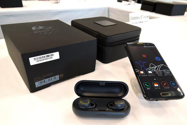 「Galaxy S7 edge Olympic Games Editon」のセット