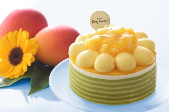 「マンゴーのひまわりケーキ(3.5号)」