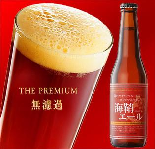 琥珀色のほやビール