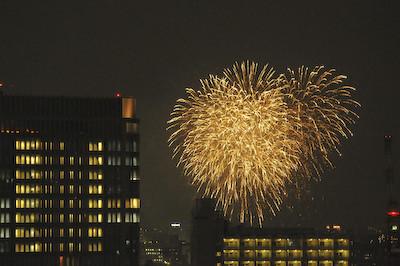 日本の夏には欠かせない花火を上質なホテルで