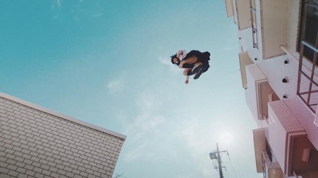 合成技術は使わず、本当にジャンプしている