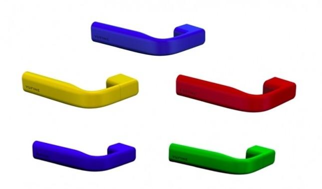 赤、青、黄、緑の特別限定色Vufine