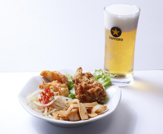 肉あんかけチャーハン専門店「炒王(チャオ)」の「炒王呑みセット」