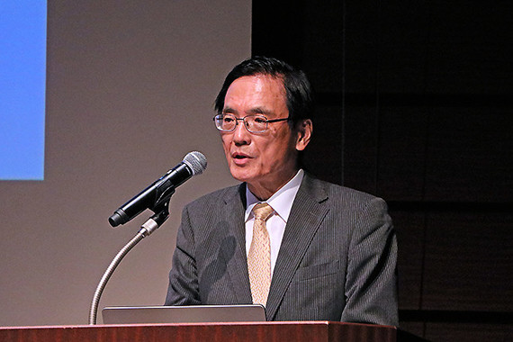 新製品発表会に登壇した、VAIOの大田義実社長