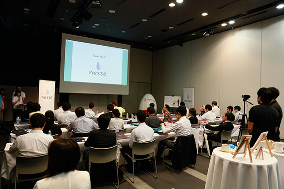 16年7月15日にnessa Japan主催のメディア向け説明会が開催された