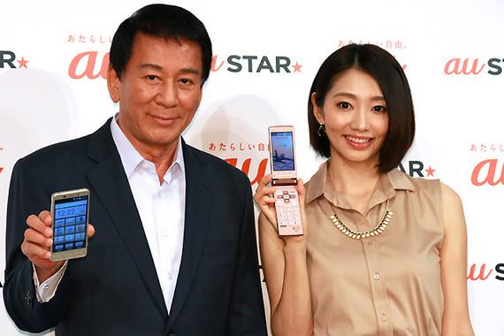 (写真左から)杉良太郎さん、眞鍋かをりさん