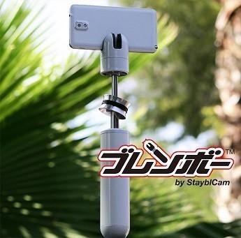 スリムかつシンプルなカメラスタビライザー