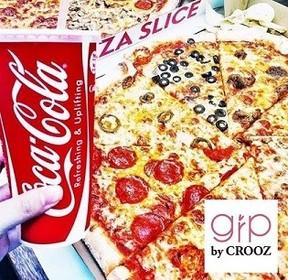 ピザプリント帽子からピザタトゥーまで――ギャルのピザブーム真っ最中