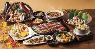 「美浜」の「日本の秋味三昧」(イメージ)